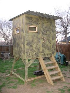 2 Person Deer Blind Plans Deer Stand Plans 4x6 Http Www