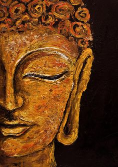 Hey, I found this really awesome Etsy listing at https://www.etsy.com/listing/169344245/hand-painted-oil-buddha-painting-inner