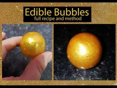 Make edible bubbles with your child for a fun bath themed snack! (Snacks)