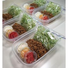 Taco salad meal prep…with reusable condiment cups.ain't got time for that! Taco salad meal prep…with reusable condiment cups.ain't got time for that! Lunch Snacks, Healthy Snacks, Healthy Eating, Healthy Recipes, Keto Recipes, Meal Prep Recipes, Healthy Taco Salad Recipe, Thermos Lunch Ideas, Best Lunch Recipes