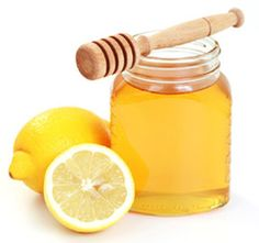 Honey Lemon Mask-great for clearing up acne and leaves skin glowing!