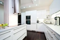 Kitchen - Prague 4 - http://www.homestaging.cz / www.huntsworthinteriors.com