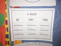 Mrs. Wood's Kindergarten Class: animals in winter