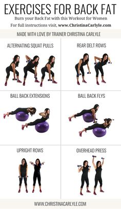 Exercises for Back Fat | Exercises for Back Fat | Workout for Back Fat | Workout for Women and Beginners | Home Workout | The Best Exercises for women | Christina Carlyle