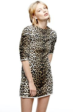 3.1 Phillip Lim Leopard Dress