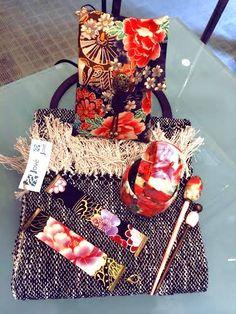 Some accessories at our Anna Povo shop in Barcelona