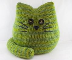 Pickles the Cat Pattern - Amigurumi Softie Knitting PDF Pattern - Mamma4earth's Shop - Craftfoxes
