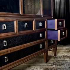 This detail is why I LOVE TNT>Cabinet no. Two Seventy  Park Avenue  Share  STYLE  Credenza  Console  Modern cabinet  Dining Room cabinet  China cabinet  Dining Room credenza  Sideboards