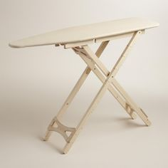 World Market Wood Ironing Board, 10 Favorite Ironing Boards | Remodelista