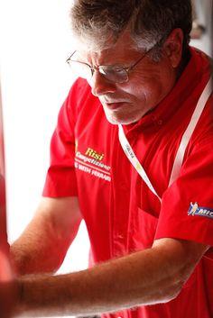 Good luck to all the team of Risi! Ferrari, Chef Jackets, Polo Shirt, Polo Ralph Lauren, Mirror, Mens Tops, Shirts, Fashion, Moda