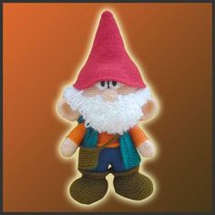 Hey, I found this really awesome Etsy listing at https://www.etsy.com/listing/76766963/house-gnome-amigurumi-crochet-pattern