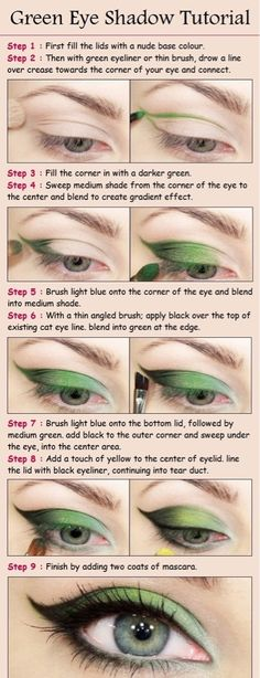 Green smokey eye is one of my go-to's... this does it even better than my usual.