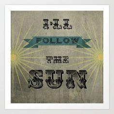 I'll Follow the Sun  by SilverSatellite