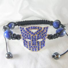 Transformer Inspired Style Blue Charm from Anns Bands for $9.99