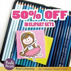50% OFF in all my cliparts this weekend! don't miss all the cuteness in the shop! #etsyshop #clipartset #etsysale #graphicdesign #kawaii #kawaiiplanner #plannercliparts #plannergirl #plannerjunkie
