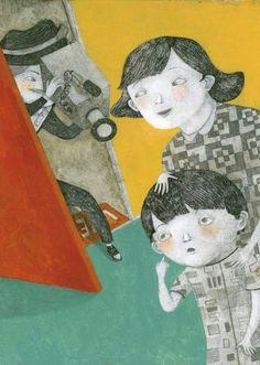 Pinzellades al món: Les il·lustracions d'Alessandra Vitelli