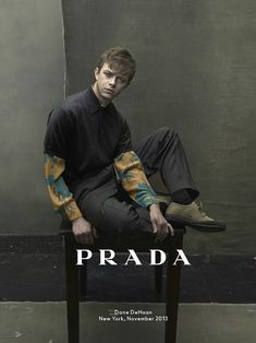Dane DeHaan for Prada Man Spring/Summer 2014 Campaign by Annie Leibovitz