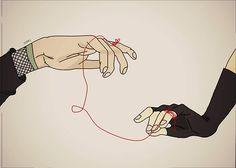 ShikaTema Red String Of Fate