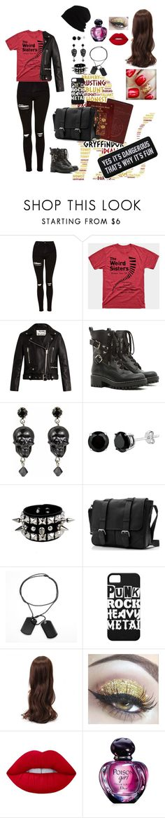 """Genderbent Sirius Black"" by mrs-sherlock-holmes1 ❤ liked on Polyvore featuring Topshop, Acne Studios, RED Valentino, Tarina Tarantino, Lime Crime, Christian Dior and SCHA"