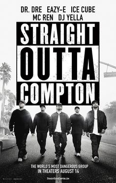 Straight Outta Compton. WOW, so much more than I expected. Kudos to Ice Cube, Dr. Dre & the director F. Gary Gray. R.I.P Easy E. They represented you well.