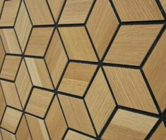 "Finium Konsept - ""Kyoob"" (White Oak) wood wall panel"