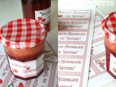 pamelopee: Free Printables: Etiketten für Marmelade selbst gestalten