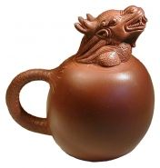 Authentic Dragon tea pot from the YiXing region of China. I want this tea pot to promote a healthy living space, for balance and to inspire my water engery. I love stuff like this