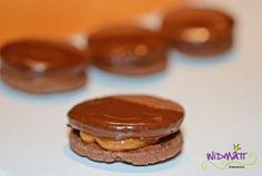 Chocoladen-Chrömli mit Toffeecrème