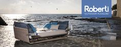 Roberti Rattan Portofino: in-outdoor furnishing in aluminum and Nautic Rope