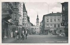 Forst Lausitz, Cottbuser Strasse um 1940