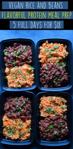 Vegan High Protein Meal Prep 5 Full Days Cheap 18 Budget Protein Breakfast Muffins Seitan with Veggies Quinoa Rice Beans Low Calorie Dairy Free Easy Simple Rich Bi. High Protein Meal Prep, High Protein Vegetarian Recipes, Vegetarian Meal Prep, Vegan Meal Plans, Vegan Recipes Easy, Low Calorie High Protein, Cheap High Protein Foods, Healthy Protein, Low Carb