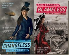 (2010) Changeless and Blameless by  Gail Carriger. The series continues to get better.