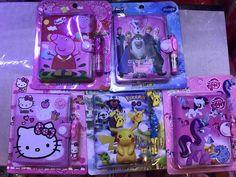 ♛ Shop8 : 1 pc CARTOON CHARACTER MINI POCKET NOTEBOOK PEN Giveaways Party Needs | eBay