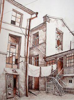 Odessas. Old area-Moldavanка. on Behance