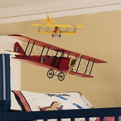 These Model Airplanes Would Be The Perfect Finishing Touch To Any  Aviation Themed Room . . . On Sale Now At Pottery Barn Kids!