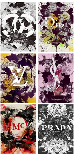 Brands in Full Bloom by Daryl Feril, via Behance
