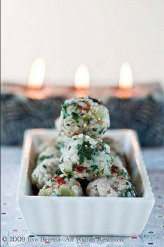Mediterranean Rice Balls   101 Bite-Size Party Foods