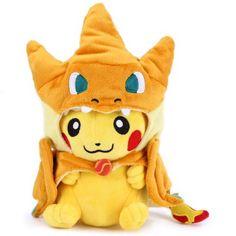 Hoy con el 24% de descuento. Llévalo por solo $28,300.Juguetes de dibujos animados de la felpa de Pokemon Pikachu 10 pulgadas.