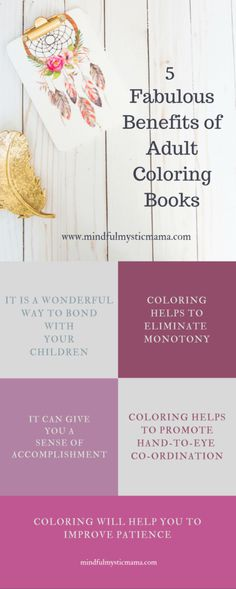 adult coloring infographic