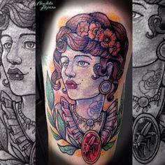 Neotrad lady Tattoo