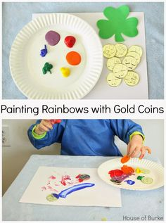 Painting Rainbows with Gold Coins - House of Burke
