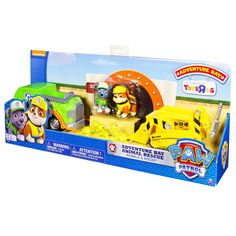 "Paw Patrol Adventure Bay Rescue Animal Rescue Set - Rocky & Rubble - Spin Master - Toys ""R"" Us"
