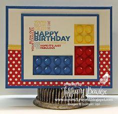 My Crafty World: It's a Lego Kind of Birthday
