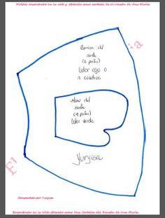 Este bello reno lo encontré en la web moldes compartidomuy gentilmente por Yulisa, es precioso un proyecto muy interesante para realiza... Deer Pattern, Christmas Deer, Toy Story, Reusable Tote Bags, Cat, Patterns, Country, Craft, Templates