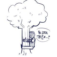 i like trees omg can someone write a parody of i like trains for evan
