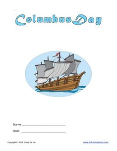 Christopher Columbus Thematic Unit: Free download at Teachers pay Teachers