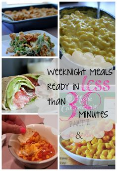 Eat Drink & Be Mary: Week Night Meals in Less Than 30 Minutes: Part II