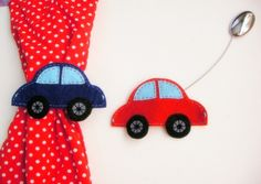 Curtain Holders Curtain Tie Backs Magnet  With Felt by sesideco, $27.00