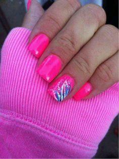 *Design on pink :) my favorite look