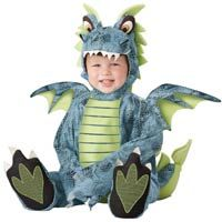 Darling Dragon Baby Costume--REALLY Cute #Halloween #Babies http://poshonabudget.com/2014/09/really-cute-halloween-babies.html via @poshonabudget